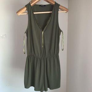 Other - Army green romper